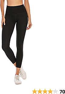 40% Off BOLIVO Workout Leggings for Women High Waisted Soft Yoga Pants Tummy Control 7/8 Length