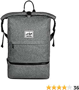 Travel Bag Gym Backpack Mountaineering Hiking Camping Bag Business Laptop Bag with Shoe Storage for All Purpose Use