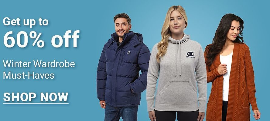Up To 60% Off Winter Wardrobe Must Have - BJ's