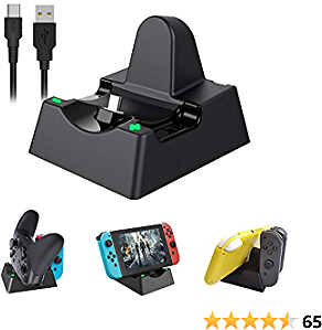 50% Off Charging Dock for Switch and Switch Lite -$8.49(Amazon)