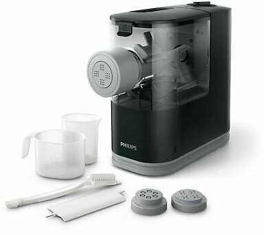 New Philips Viva Compact Pasta and Noodle Maker, Black - HR2371/05 75020059246