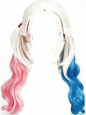 Cosplay Wig for Suicide Squad Harley Quinn