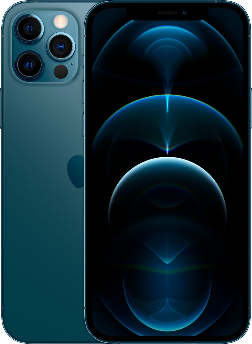 Apple IPhone 12 Pro 5G 128GB Pacific Blue (AT&T) MGLR3LL/A