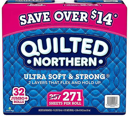 Quilted Northern Ultra Soft & Strong Toilet Paper (32 Rolls)