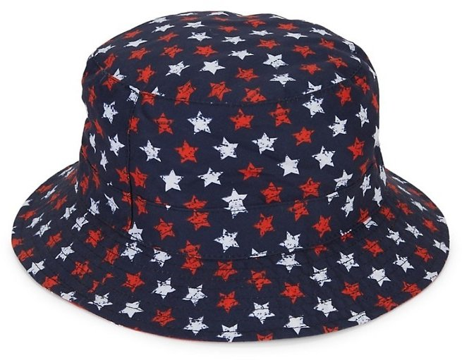 San Diego Hat Company Girl's Reversible Printed Bucket Hat