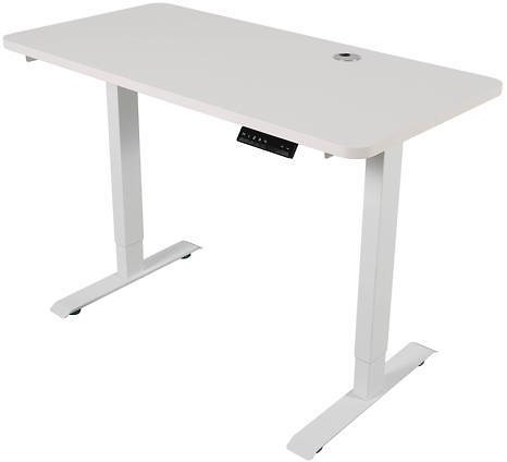 Walsport Electric Height Adjustable Gaming Desk Dual Motor 46 X 24 Inches Home Office Standing Computer Table Workstation - Newegg.com