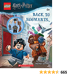 Back to Hogwarts (LEGO Harry Potter: Activity Book with Minifigure) Paperback – January 29, 2019