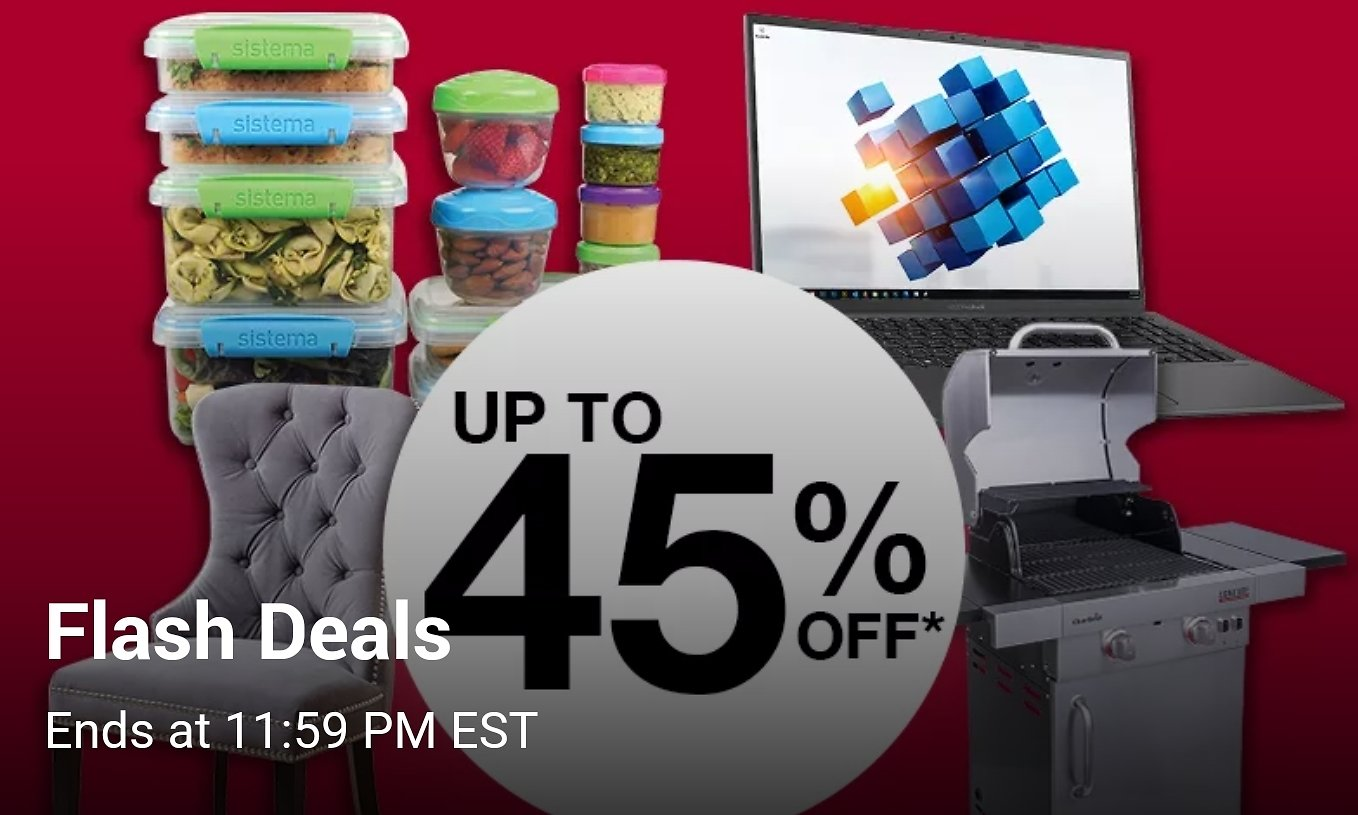 Up to 45% Off Flash Deals are Back!