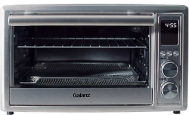 Galanz 6-Slice Toaster Oven with Air Fry, 1.1 Cu. Ft