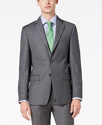 Calvin Klein Men's X-Fit Slim-Fit Stretch Suit Jackets & Reviews - Blazers & Sport Coats - Men