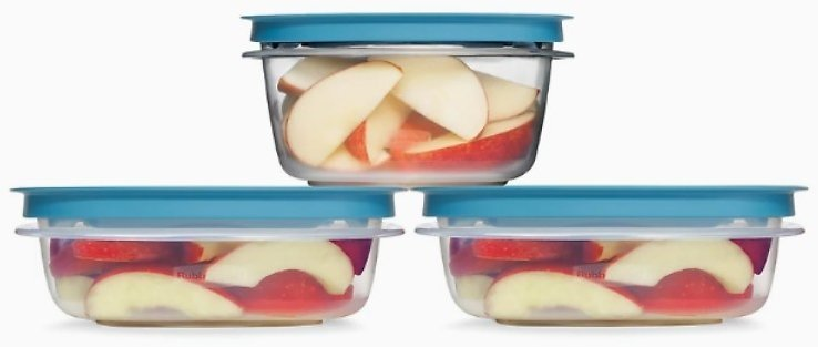 Rubbermaid Flex & Seal 6-pc. Food Storage Container Set