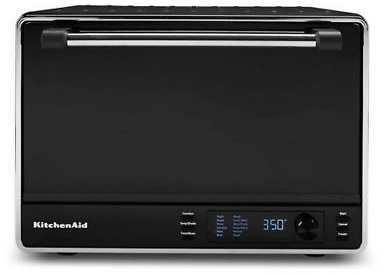 KitchenAid® Dual Convection Countertop Oven in Black Matte | Bed Bath & Beyond