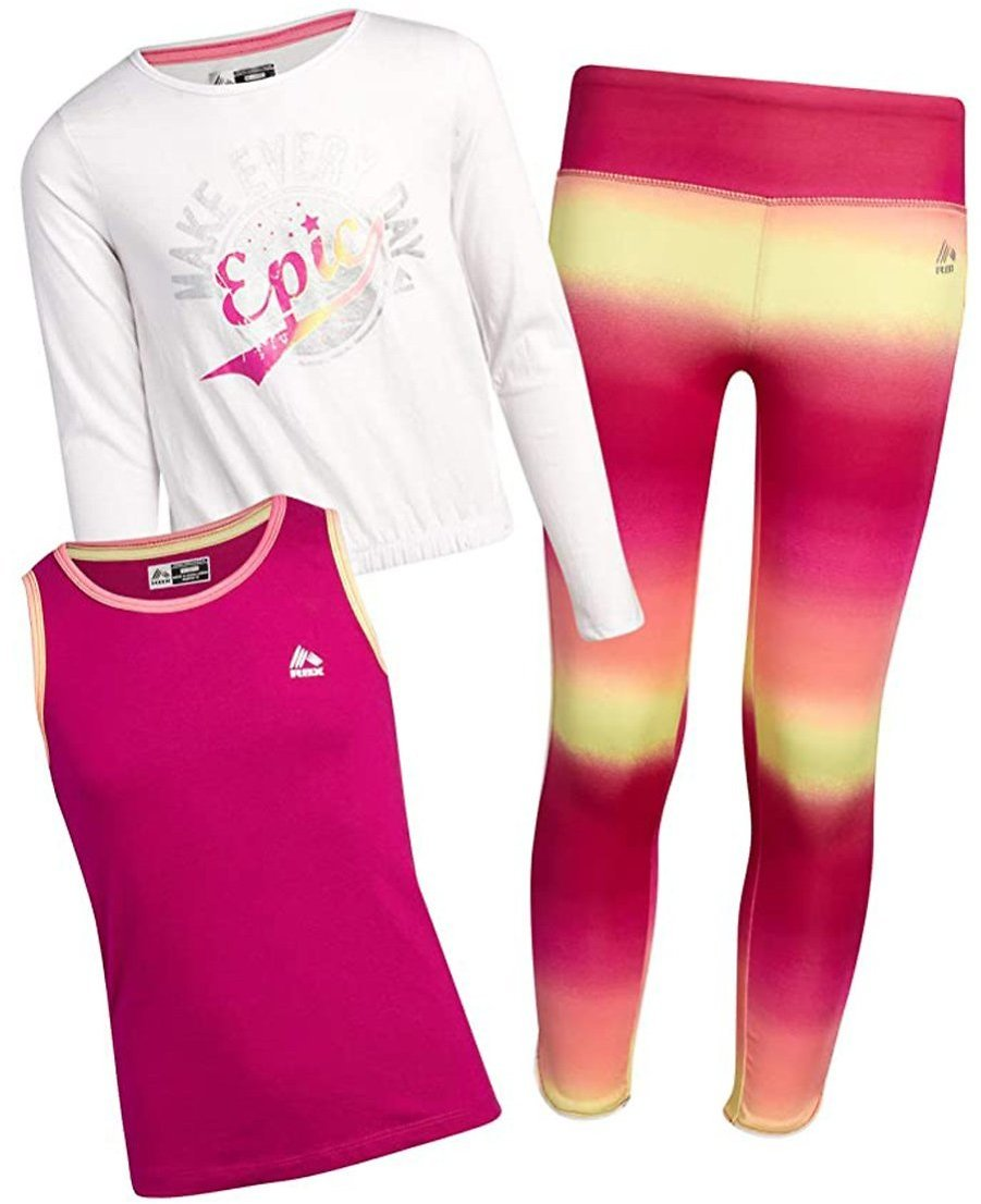 Love This Product White 'Make Every Day Epic' Long-Sleeve Crewneck Top Set - Toddler & Girls