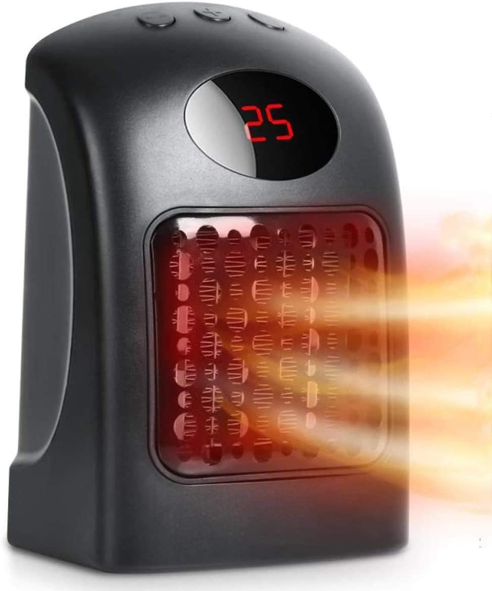 Portable Electric Heater (900 Watt)
