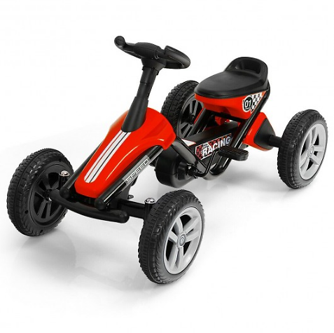 4 Wheel Pedal Powered Ride On Racer Car for Kids