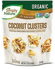Simply Nature Chocolate Drizzle or Super Seeds Coconut Clusters