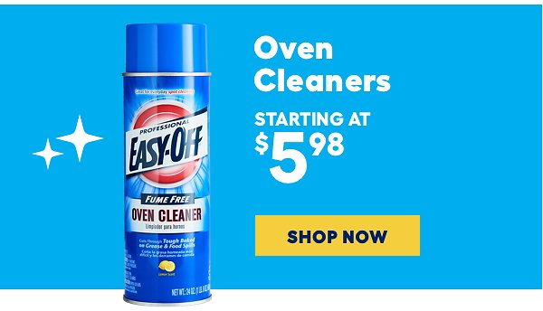 Oven Cleaners Starting At $5.98 - Lowes