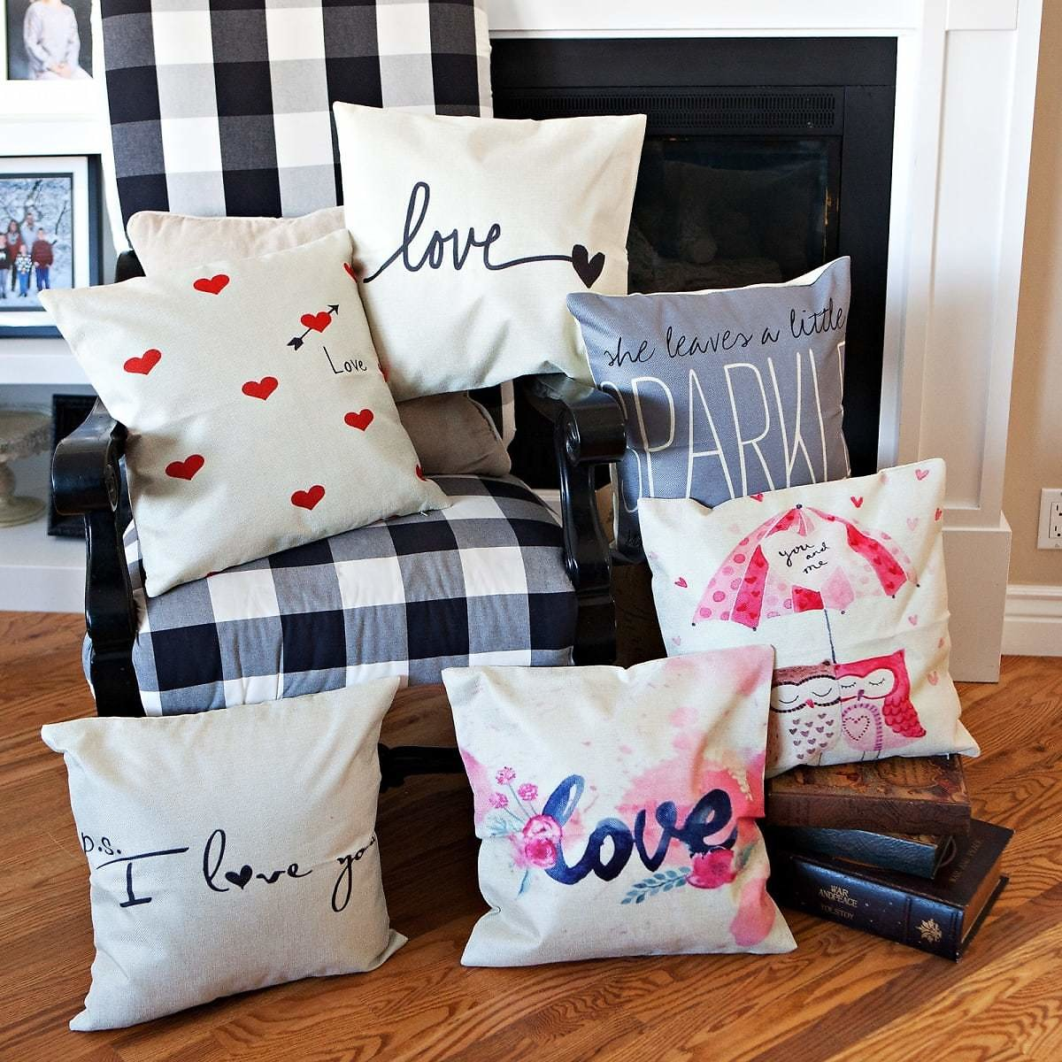 Valentines Day Pillow Covers