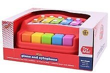 Playright 2 in 1 Piano and Xylophone