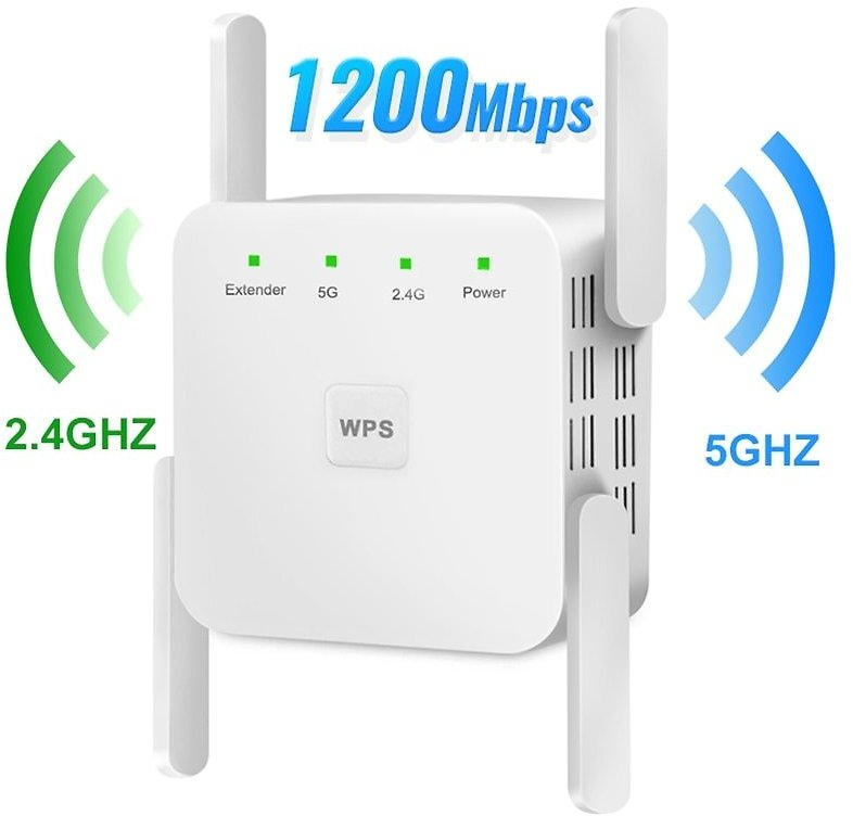 US $7.19 37% OFF|5Ghz Wireless WiFi Repeater 1200Mbps Router Wifi Booster 2.4G Wifi Long Range Extender 5G Wi Fi Signal Amplifier Repeater Wifi|Modem-Router Combos| - AliExpress