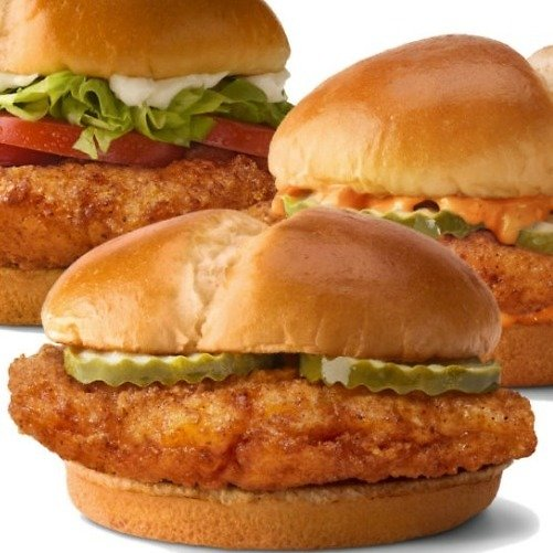 3 New Chicken Sandwiches Available!