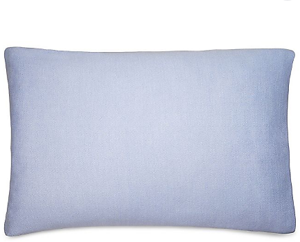 Calvin Klein® Ray Standard Pillow Sham (King - Color Periwinkle/Cream)