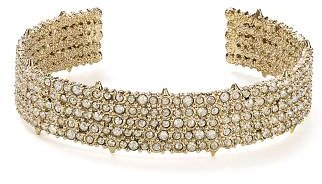 Alexis Bittar Crystal Pavé Accent Cuff Jewelry & Accessories - Bloomingdale's