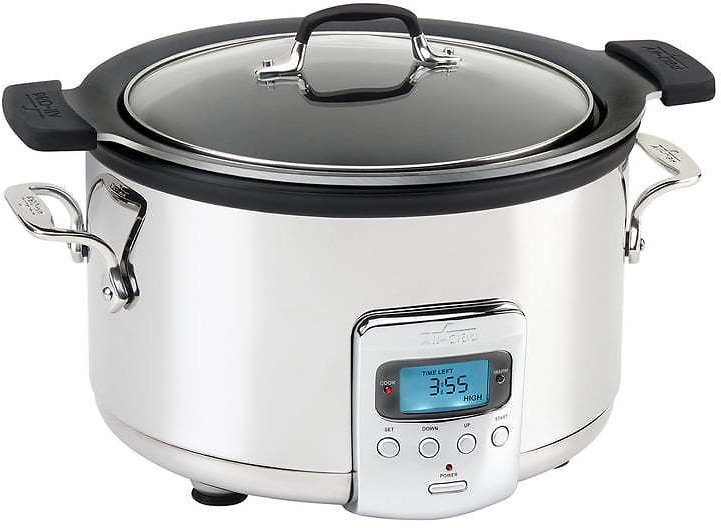 All-Clad 4-Quart Slow Cooker with Aluminum Insert
