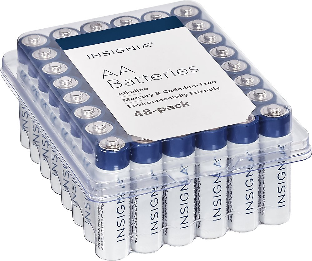 Insignia™ AA Batteries (48-Pack) NS-CB48AA