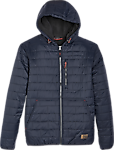Free Country Navy Modern Fit Hooded Puffer Jacket