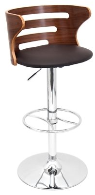 Cameron Adjustable Height Bar Stool with Swivel