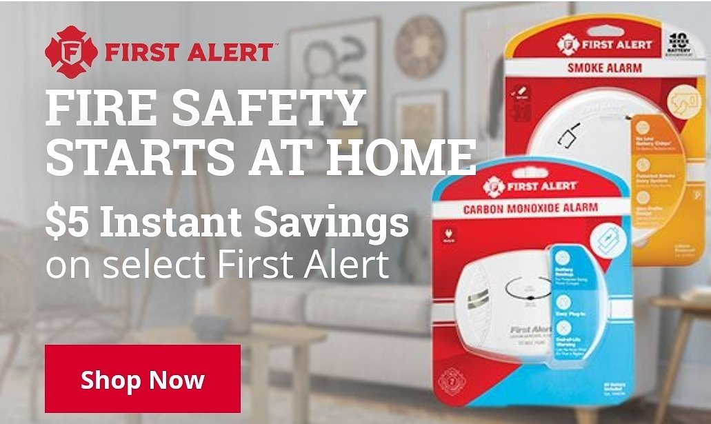 $5 Off On Select Fire Alert Safety Items - Ace Hardware
