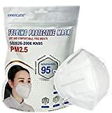 KN95 FACE MASK 5-Layer Filtration White Mask - Liquid and Dust Proof Face Protection - 10 Pack: Clothing