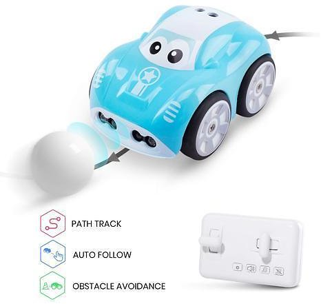 DEERC DE33 RC Inductive Car with Auto Follow and Obstacle Avoidance Indoor Toy - Newegg.com