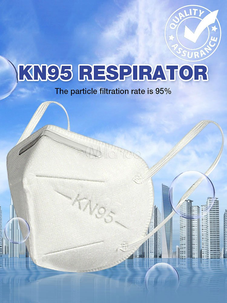 Face Mask Dust Protective Disposable Anti Pollution Mask KN95 Safety Mask 5 Layer Air Filter