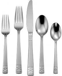 25% Off Sitewide | Winter Frost 20 Piece Everyday Flatware Set