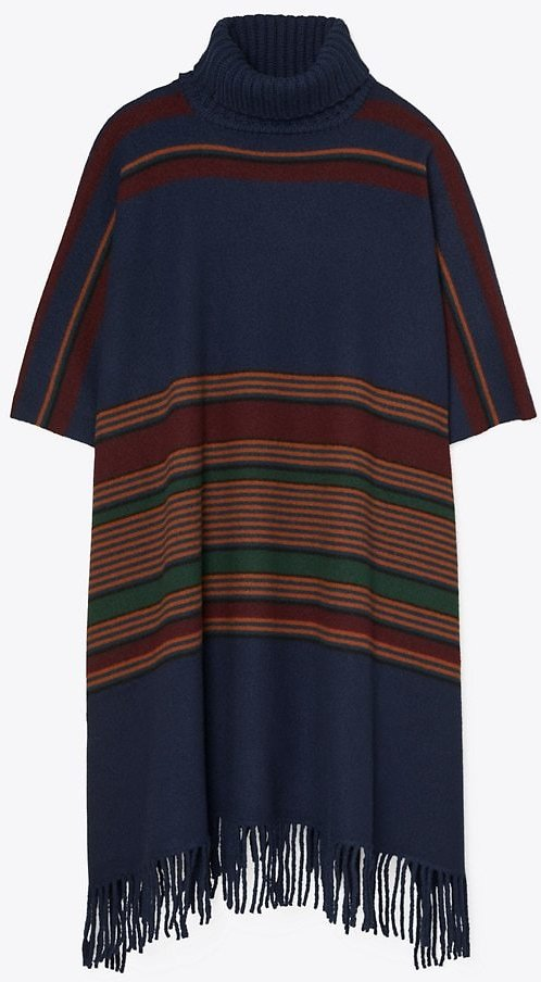 30%OFF |Tory Burch Striped Poncho | Tory Burch