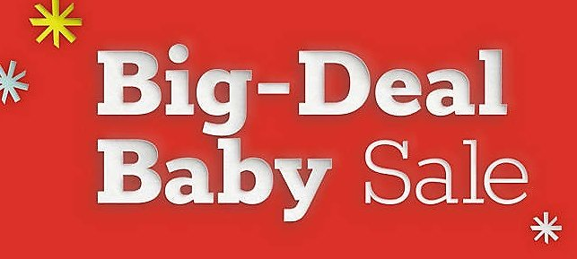 Up To 50% Off Big-Deal Baby Sale