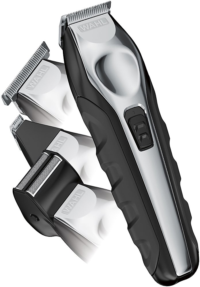 Wahl Lithium Ion Rechargeable Trimmer Black/silver 9888-600