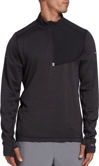 DSG Men's Grid Fleece Half Zip (Regular and Plus)