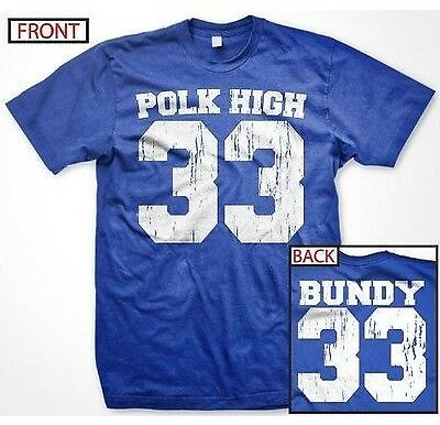 Al Bundy Polk High Married with Children Funny TV Slogans - Men's T-shirt
