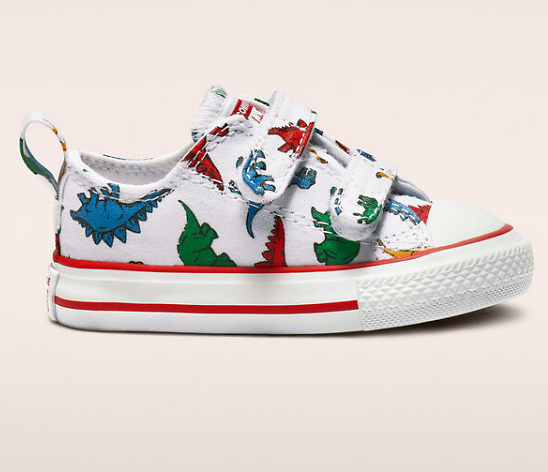 40% Off With Code: OUTLET40 | Chuck Taylor All Star Hook and Loop Dinoverse