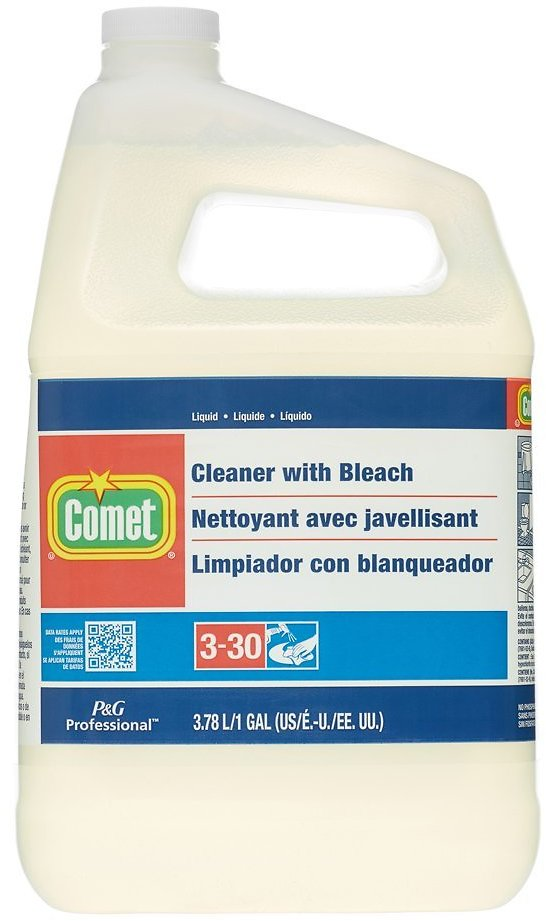 Comet Cleaner with Bleach, Liquid