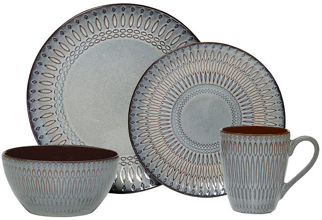 50% OFF | Mikasa® Gourmet Basics Broadway 16pc. Dinnerware Set
