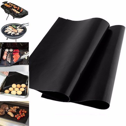 BBQ Grill Sheets Thick Non-stick Mat