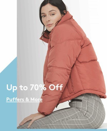 Up to 70% Off Puffers & More! | Nordstrom Rack