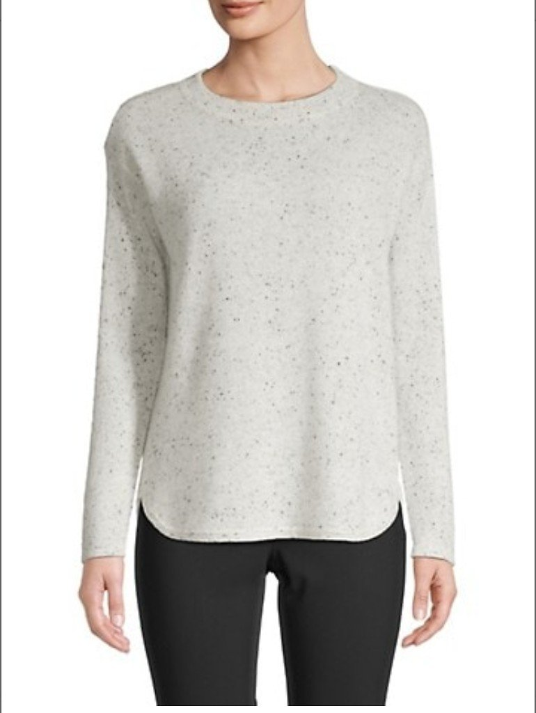 Saks Fifth Avenue Bardot Cashmere Sweater