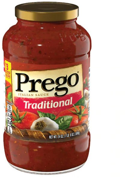 2 for $1.95 24oz Prego Italian Sauce (Traditional or Meat)