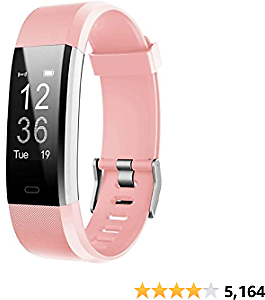 18% OFF LETSCOM Fitness Tracker HR Tracker Watch Heart Rate Monitor