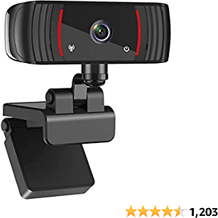 1080P Webcam with Microphone, Web Cam USB Camera, Computer HD Streaming Webcam for PC Desktop & Laptop W/Mic, Wide Angle Lens & Large Sensor for Superior Low Light-wb-4